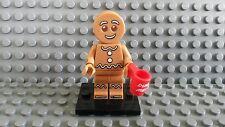 LEGO minifigura serie 11 Gingerbread Man con Tazza Coppa Dunk Me