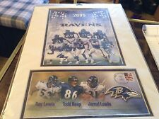 Baltimore ravens 2005 Postal Service photo/cover mated poster