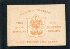 Canada 1951 KGVI Stamp Booklet superb MNH. SG SB47a.