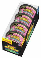 4 Pack of California Scents Shasta Stawberry Car & Home Air Freshener Can Tin