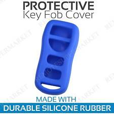 Remote Key Fob Cover Case Shell for 2002 2003 2004 Infiniti I35 Blue