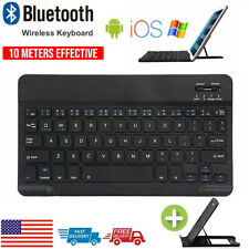 New listing Rechargeable Wireless Bluetooth Keyboard For Ios iPad Android Tablet Pc Desktop