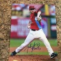 Jarrod Parker Signed 8x10 Photo Autograph Arizona Diamondbacks