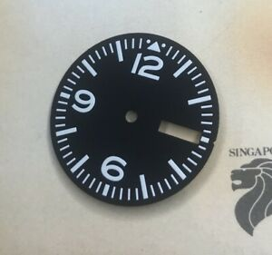 Sterile Pilot Aviation Aviator Dial Seiko 7S26 NH35 movement w/ Day Date 28.5mm