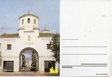 España Tarjeta Postal Granada 92 Santa FéPuerta de Loja (CK-997)