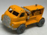 Vintage Moko Lesney Matchbox No 28 Orange Bedford Compressor Truck