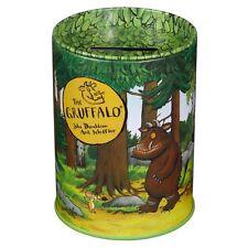 Gruffalo Tin Money Box Piggy Bank Kids Children Safe Savings Coins Liftable Lid