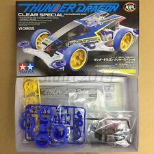 Tamiya 95336 1/32 Mini 4WD Thunder Dragon Clear Sp. - VS Chassis Clear Body