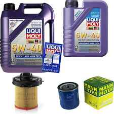Inspection Kit Filter LIQUI MOLY Oil 6L 5W-40 for Citroën Zx N2 1.6i