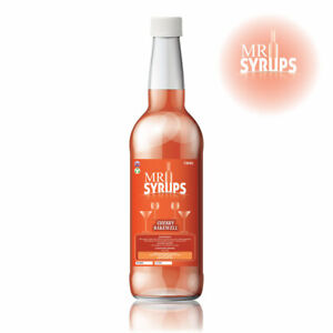 750ml Cherry Bakewell Flavour Drink Syrup - Cocktail Syrup - Cocktail Mixer