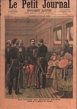 Général Alfred Dodds Médaille du Dahomey à Marseille France 1893 ILLUSTRATION