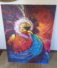 "John T. Jones painting "" Masked Dancer "". Original. Signed"