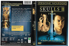 THE SKULLS II - I TESCHI (2002) dvd ex noleggio