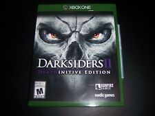 Replacement Case (NO GAME) DARKSIDERS II 2 DEATHINITIVE EDITION XBOX ONE 1 XB1