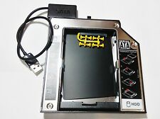 USB 2.0 Cable + Ultrabay Slim SATA III 2nd Hdd Lenovo ThinkPad T420 T430 6.0Gb/s