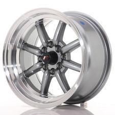 Japan Racing JR19 Alloy Wheel 15x8 - 4x114.3 / 4x100 - ET0 - Gun Metal