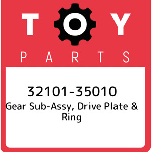 32101-35010 Toyota Gear sub-assy, drive plate & ring 3210135010, New Genuine OEM