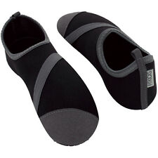 FitKicks Foldable Flat Active Flexible Shoes, Black, Womens, X-Large (10-11)