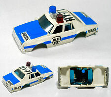 1979 Aurora Afx Magnatraction Chevy Pursuit Police Car Body Wht Fade NoRadarGun