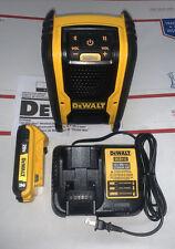 Dewalt DCR006B 20V Job site Bluetooth Speaker Battery Kit 2.0 charger 2020