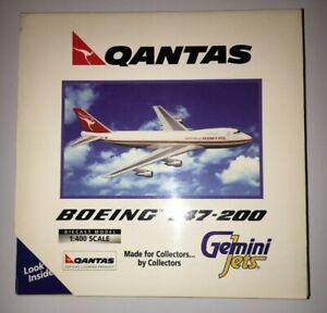 Gemini Jets Qantas Boeing 747-200 - VH-EBA - GJQFA066 - 1/400