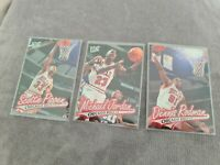 1996-97 Fleer Ultra Chicago Bulls Lot - 16, 18, 19 - Jordan Pippen Rodman
