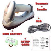 Motorola Symbol LS4278 & Cradle STB4278 Wireless Barcode Scanner BlueTooth USB