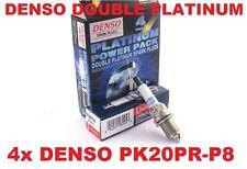 Skoda SUPERB 1.8T 150PS 2001-2008 - DENSO PLATINUM PK20PR-P8 - 4x Zündkerzen-Set