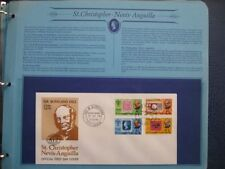 First Day of Issue 1 British Colony & Territory Stamps