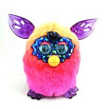 Furby Boom Crystal Series Talking Toy Hasbro Orange Pink Purple Ombre 2012 WORKS