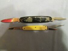 Vintage Small German Folding Knives. Boker And Hoppe. Very good+