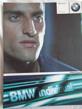 BMW 3 Series Individual range brochure 2001