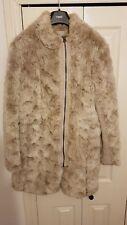 NEXT Size 14 Faux Fur Coat