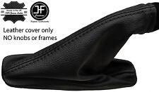 Polaina Cuero Negro Puntada De Freno de Mano para Land Rover Freelander 2 LR2 06-14
