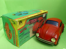 METEOR 910 VW VOLKSWAGEN KAFER BEETLE RED - FRICTION POWERED - VERY GOOD IN BOX