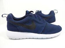 04bd22353c27 Nike Men s Roshe Run Running Shoes Midnight Navy Black-white Size 8.5