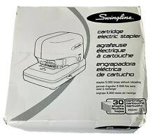 New Listingswingline Cartridge Electric Desktop Stapler 30 Sheet Capacity Black 69008