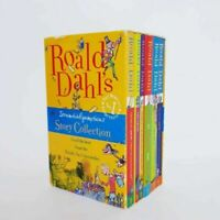 Roald Dahl Scrumdiddlyumptions Story Collection 6 Book Set Paperback Kids