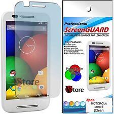 3 Pellicola Per Motorola MOTO E Proteggi Salva Schermo Dislay LCD