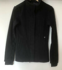 BENCH LADIES NEW BLACK ZIP UP JACKET SIZE EXTRA SMALL