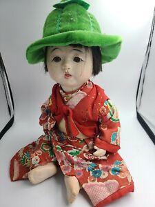 VINTAGE JAPANESE ICHIMATSU COMPOSITE BABY DOLL JOINTED GOFUN