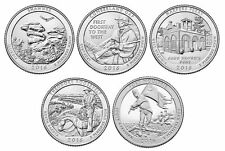 The 2016 National Park Quarters - P&D Set of 10 Quarters - US Mint **IN HAND**
