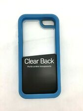 Otter Box Case for iPhone 5/5s I Symmetry Series I Clear with Blue Trim (IJ33)