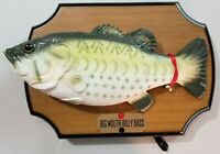 Big Mouth Billy Bass Singing Christmas Edition 1999 Vintage No Hat PARTS ONLY