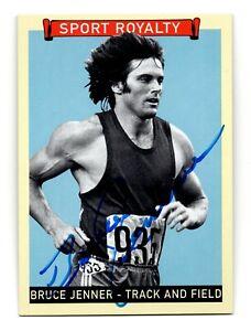 2008 Goudey Sport Royalty Authentic Autograph Bruce Jenner Decathlon Olympics