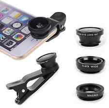 3 in1 Fish Eye+Wide Angle Macro Telephoto Lens Camera for iPhone 6 5s PLUS 5 5c