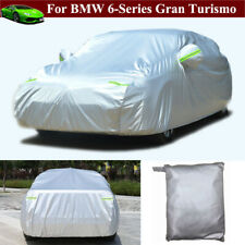 Full Car Cover Waterproof Full Car Cover for BMW 6-Series Gran Turismo 2018-2021