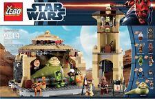 Lego - Star Wars 9516 Jabba's Palace & New In Box Rare HTF