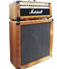 Customized Marshall MG 100 HDFX amp head with matching 212 handmade pine cabinet