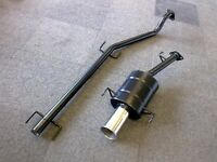 """VAUXHALL ASTRA Mk4 SPORTS EXHAUST SYSTEM 98-2001 ASTRA G 3.5"""" Tip"""